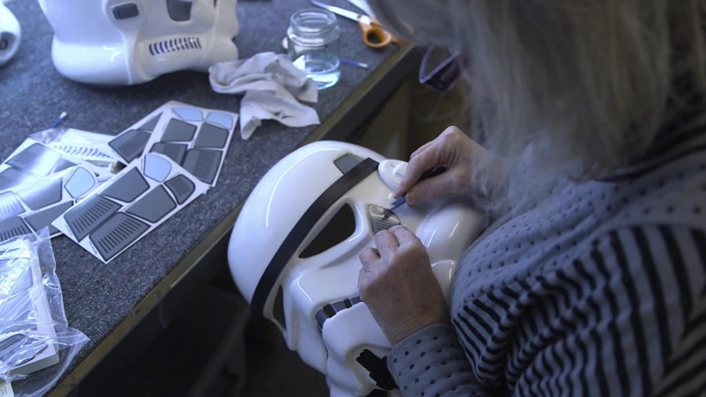 Inside the 'Stormtrooper' factory