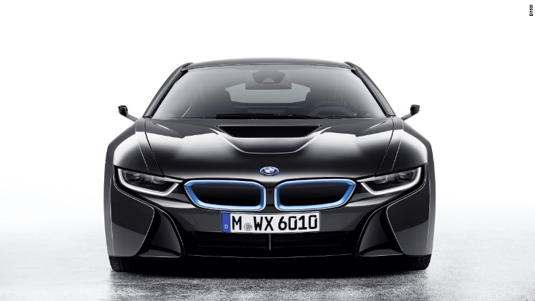BMW i8 concept car mirrorless ces 2016