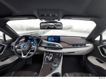 Bmw Shows Off Mirrorless Car At Ces