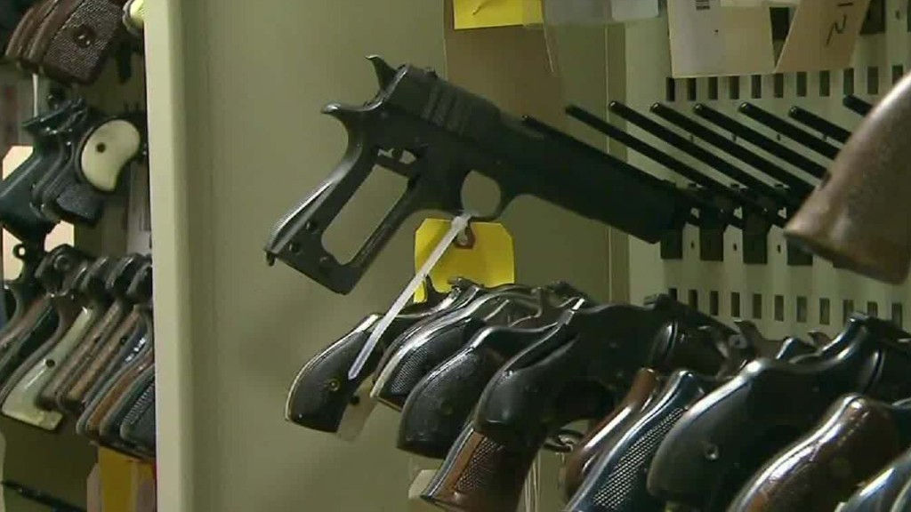 NRA pushes police to re-sell seized guns