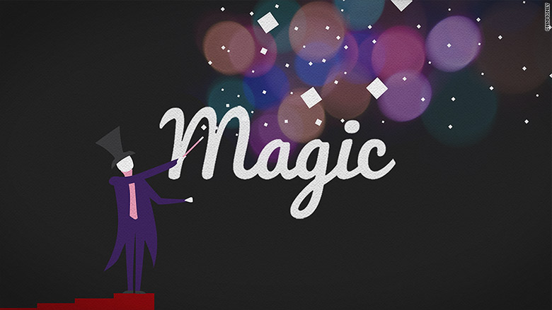 magician sprinkles