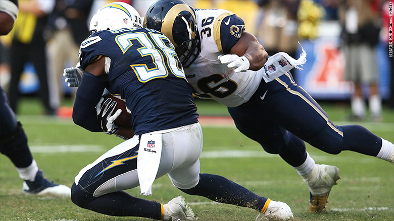 st louis rams san diego chargers