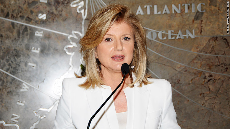 arianna huffington empire state building