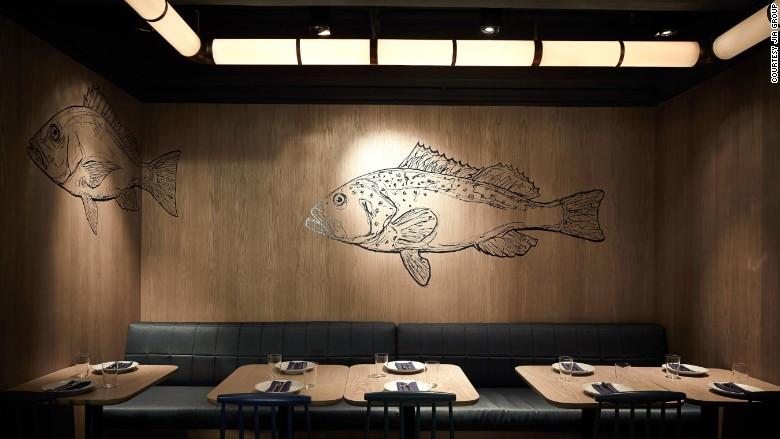 Fish School restaurant
