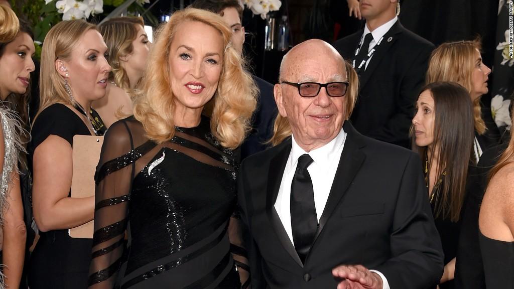 Rupert Murdoch set to marry Jerry Hall