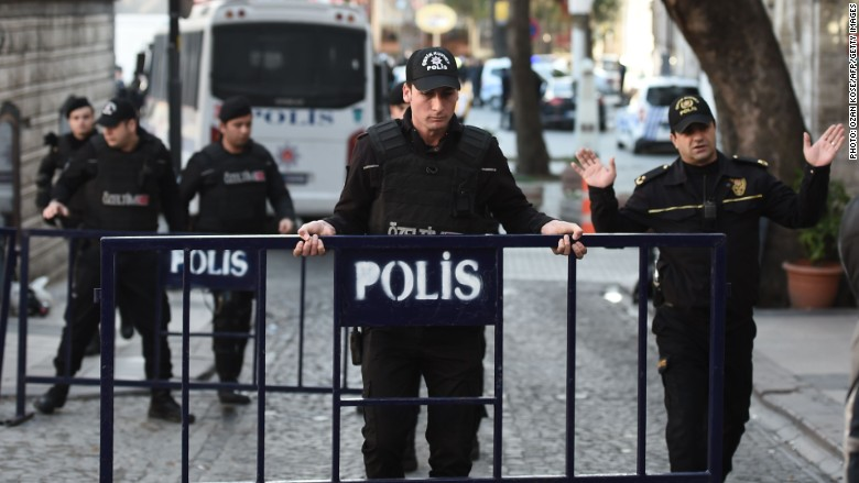 Istanbul turkey attack