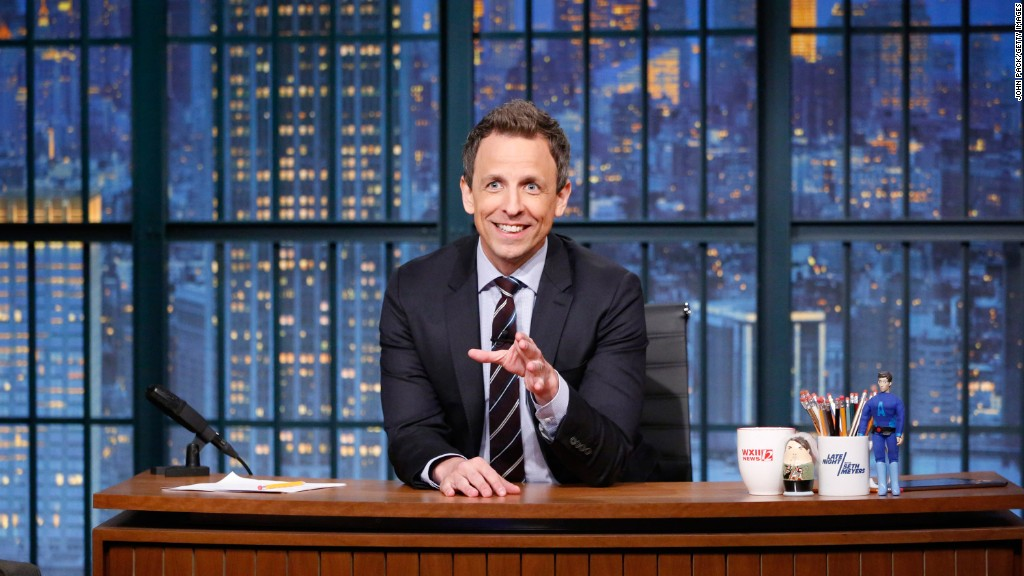 Late show hosts react to Trump's victory