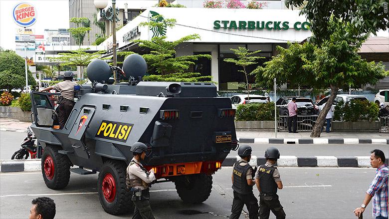 starbucks jakarta terror attack