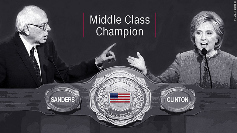 sanders clinton champion