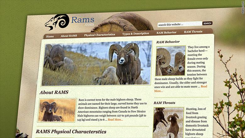 rams animal site