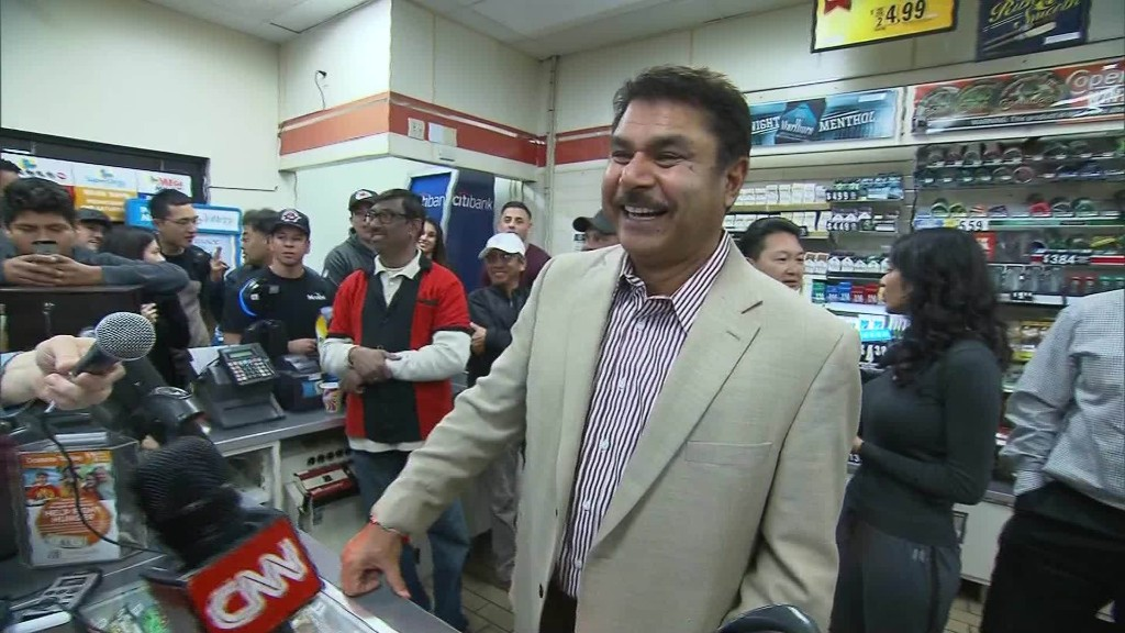 California store celebrates selling winning lottery ticket