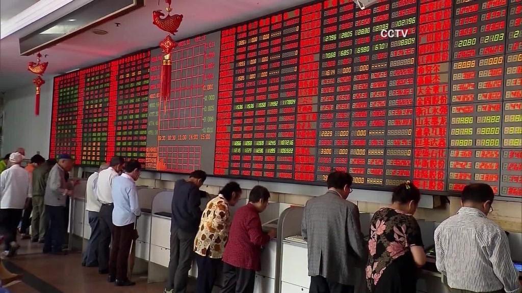 Student hit hard by China stock market