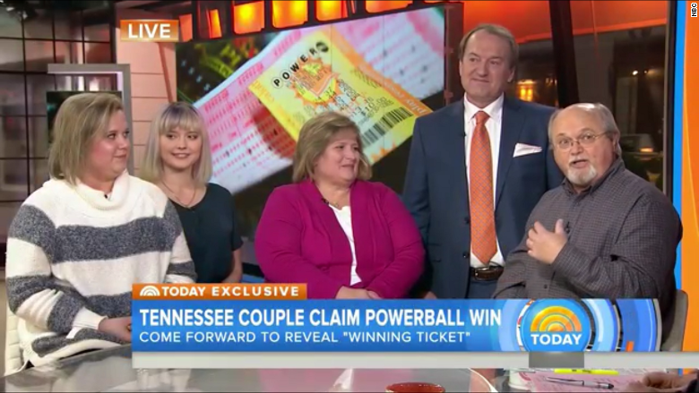 powerball winners today show