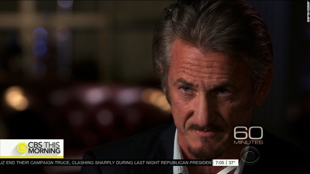 Sean Penn on El Chapo: Mexican government set me up