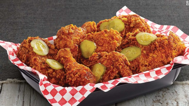 Kfcs Gets Hot And Spicy With Its New Nashville Hot Chicken