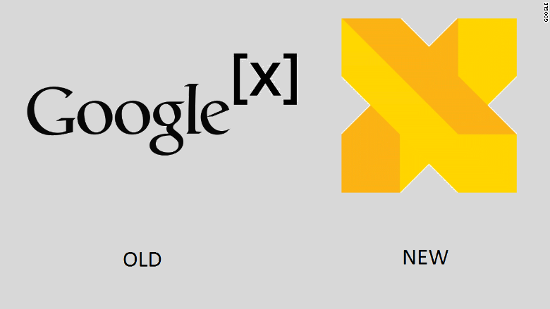 Google X has a new logo and name