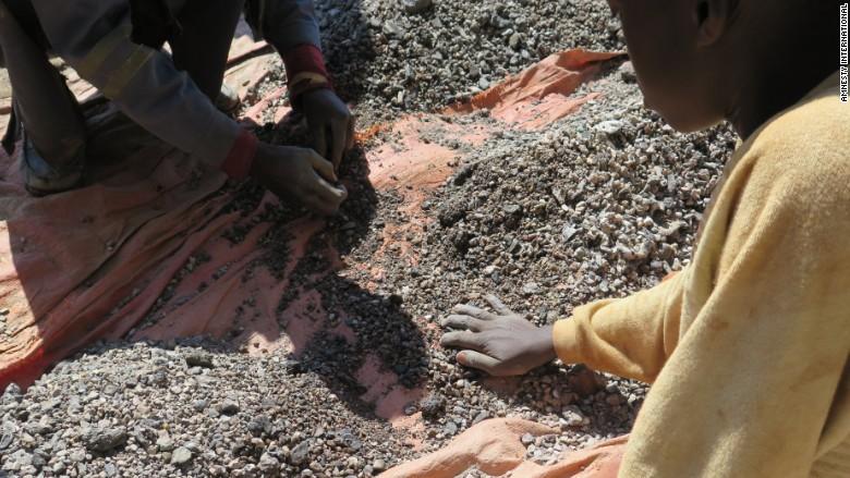 cobalt mining child