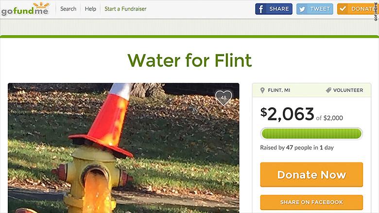 water for flint 2063