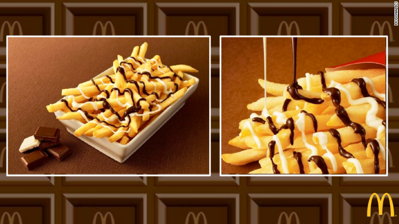 mcchoco potato french fries mcdonalds