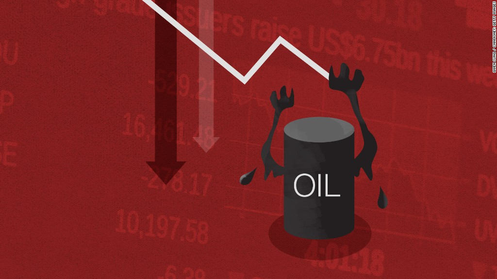 Why oil's plunge is freaking out the stock market