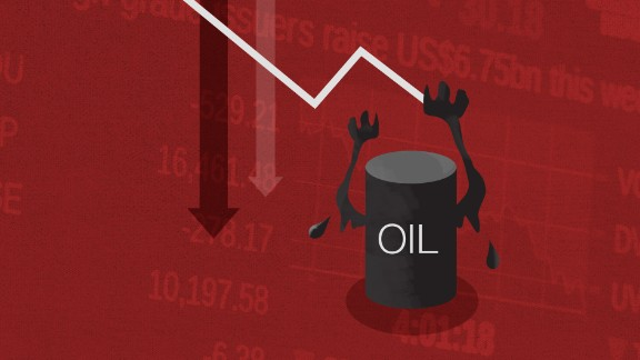 Oil crash taking stocks down ... again