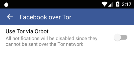 tor facebook switch
