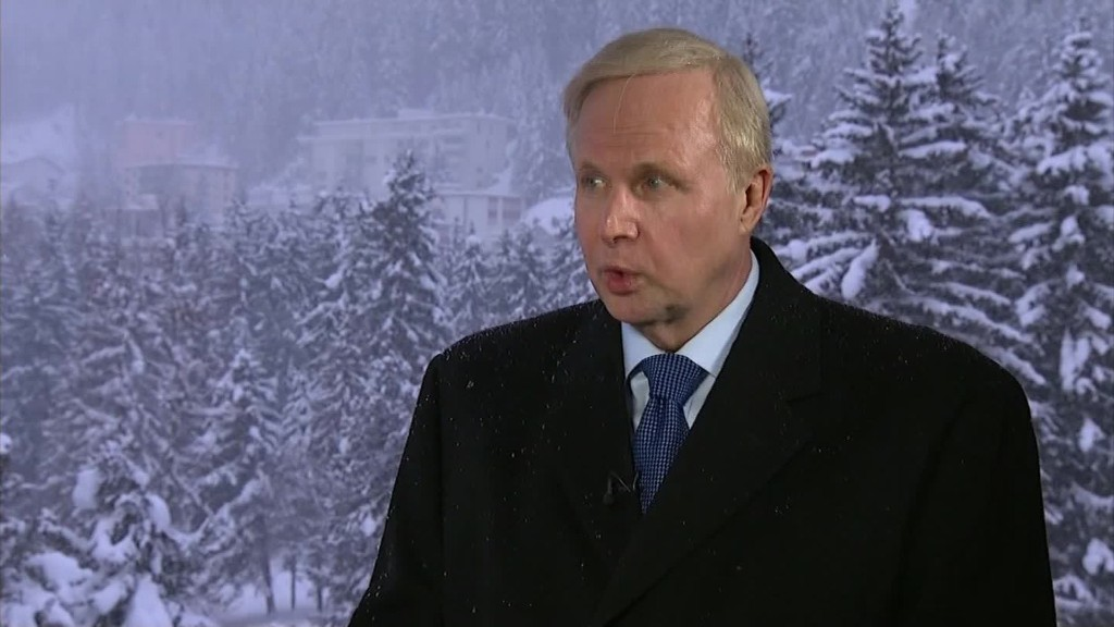 BP CEO: 'Brutal' oversupply in oil