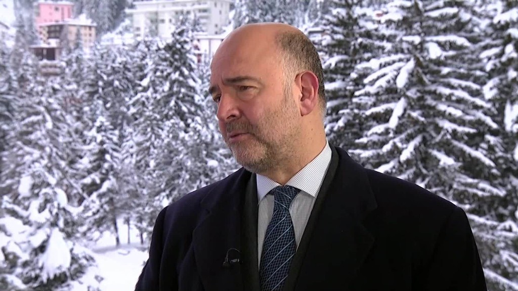 Moscovici: EU economy 'solid' but needs more