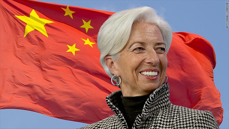 christine lagarde china