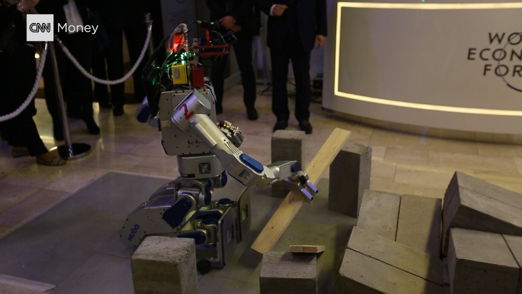 Message from Davos: The robots are coming