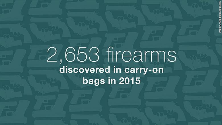 tsa guns carry on