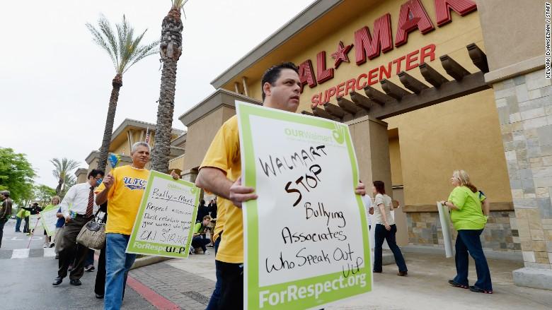 walmart protest 2013