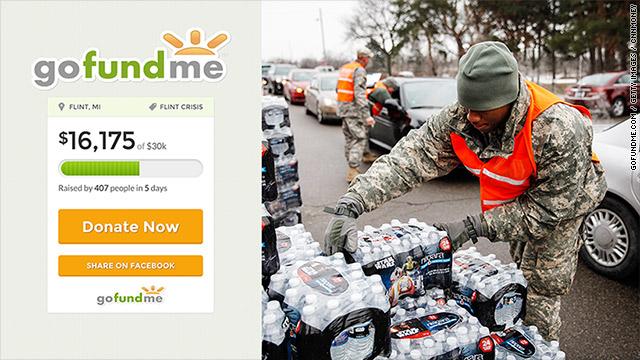 65 GoFundMe accounts raising money for Flint water crisis