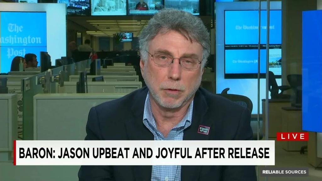 Post editor describes Jason Rezaian's 'joyous' return
