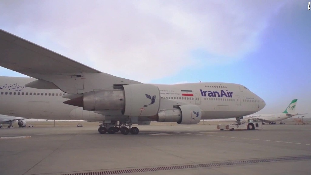 Iran's plan to rebuild its airline industry