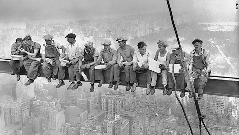 corbis ny construction workers