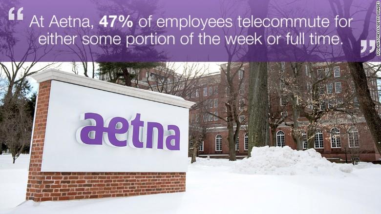 aetna social telecommute