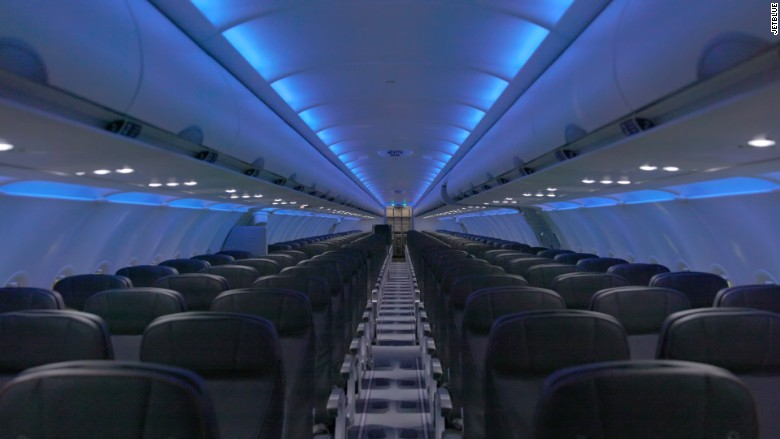 JetBlue's redesign - more legroom, HD screens, and Wi-Fi