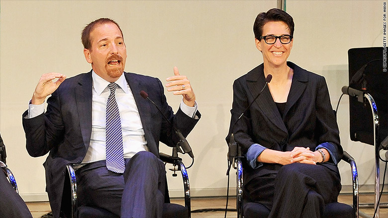chuck todd rachel maddow advertising week