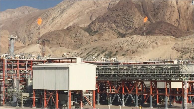 south pars gas complex