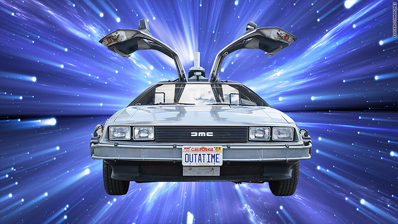 delorean is back