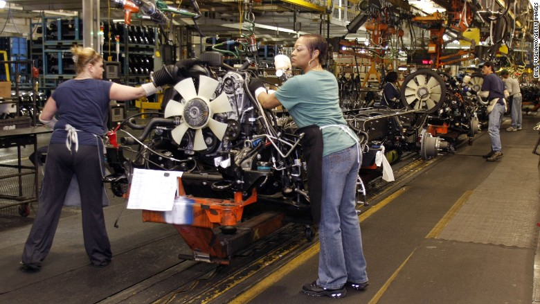 general motors women workforce