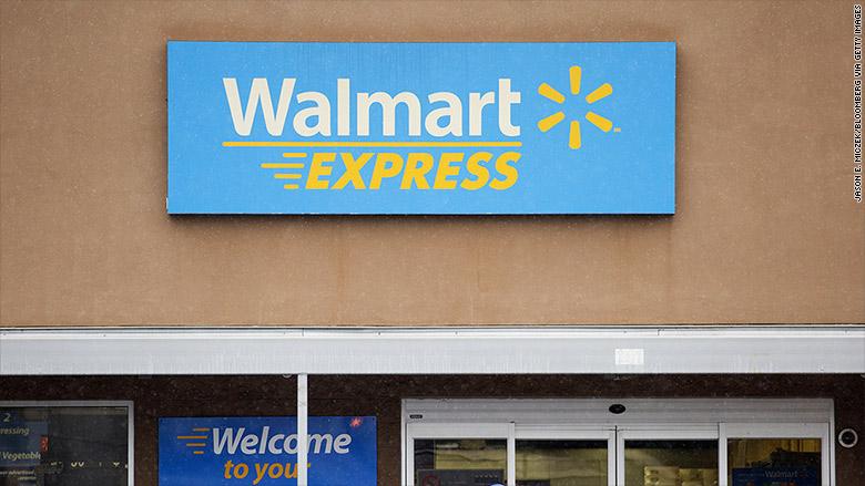 walmart express sign