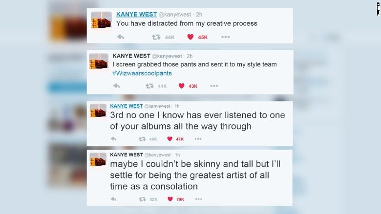 kanye tweets creative process