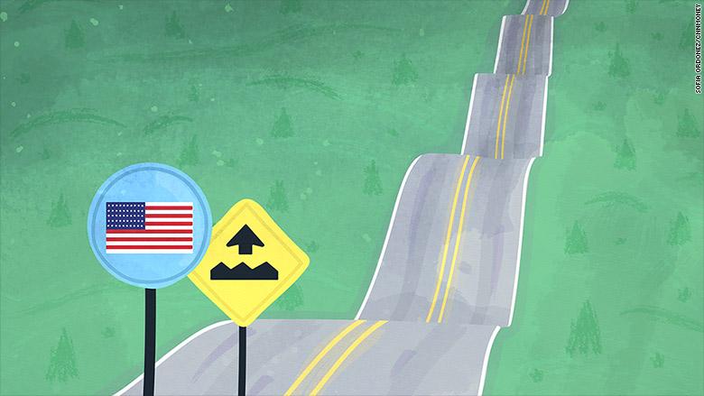 american bumpy road