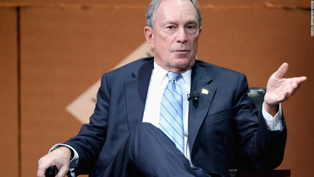 Michael Bloomberg in 96 seconds