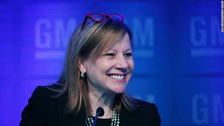 Gm Ceo Mary Barra S Pay Jumps 77 To 29 Million