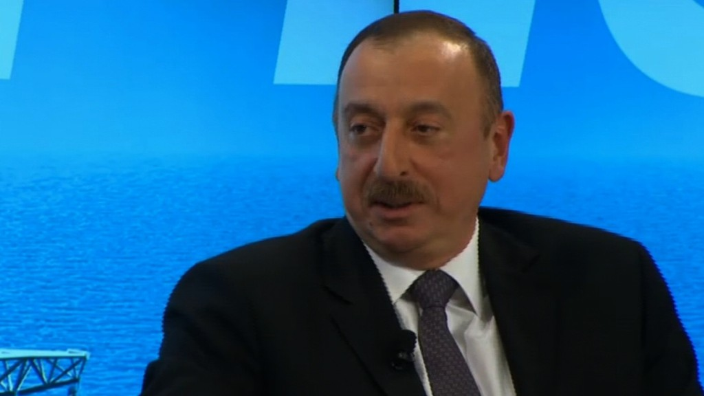 Azerbaijan hit by low oil prices