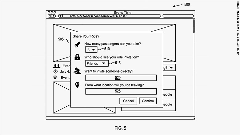 facebook patent figure 5