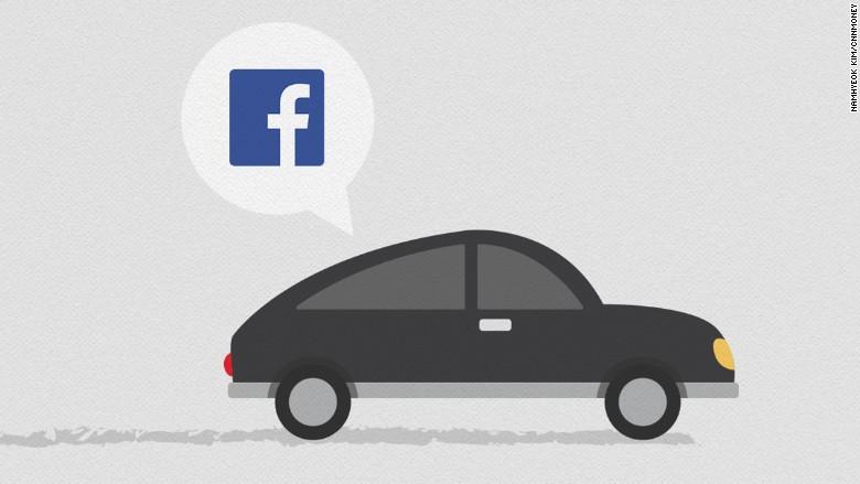 facebook ride sharing patent